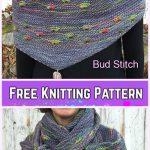 Knit Bud Stitch Free Knitting Pattern