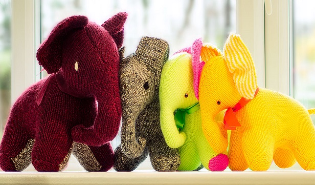 Knit Elephant Plush Toy Free Knitting Pattern Diy Magazine