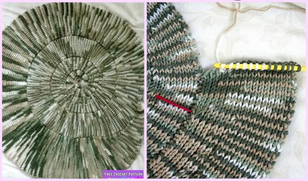 Spiral Afghan Blanket Crochet Free Pattern
