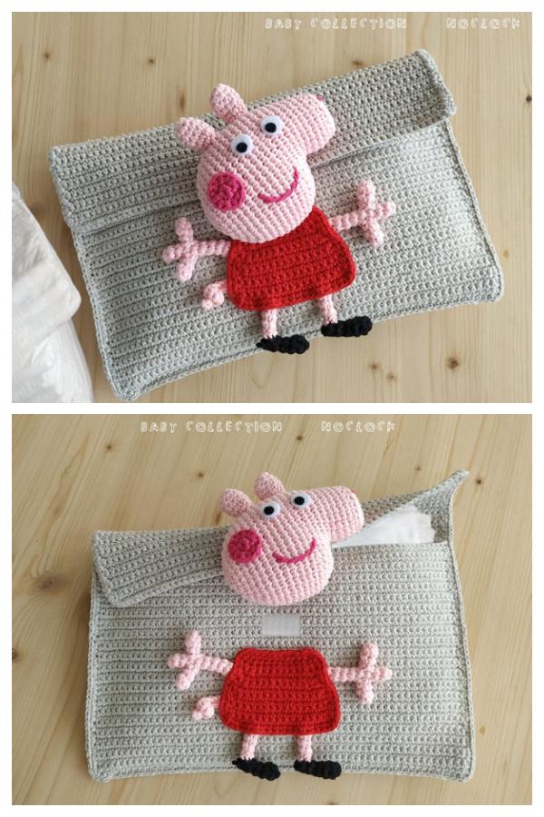 PEPPA PIG Diaper Holder Crochet Pattern