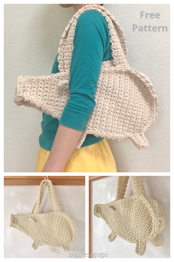 Piggy Bag Free Crochet Pattern