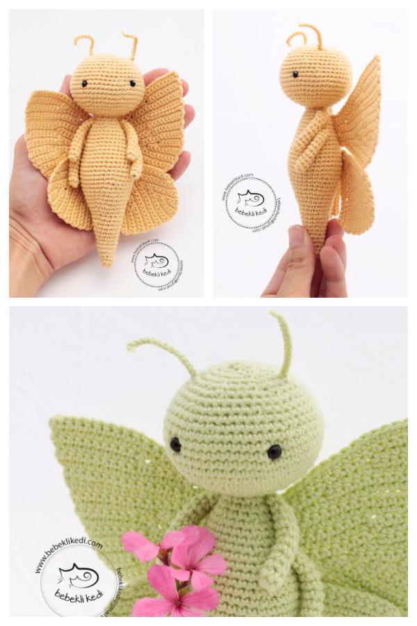 Crochet Mona Butterfly Amigurumi Patterns