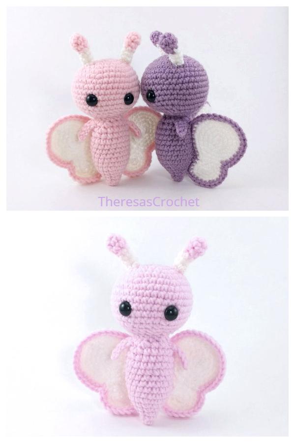 Crochet Belle the Butterfly Amigurumi Patterns
