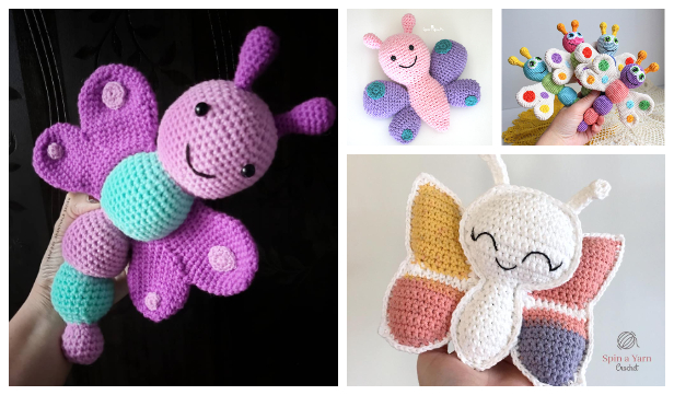 Crochet Butterfly Amigurumi Free Patterns