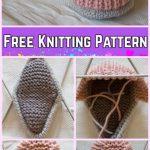 Knit Baby Sneaker Booties Free Knitting Pattern