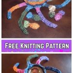 Knit Ollie Octopus Plush Toy Free Knitting Pattern