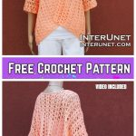 Crochet Summer Shrug Cardigan Free Crochet Patterns for Ladies