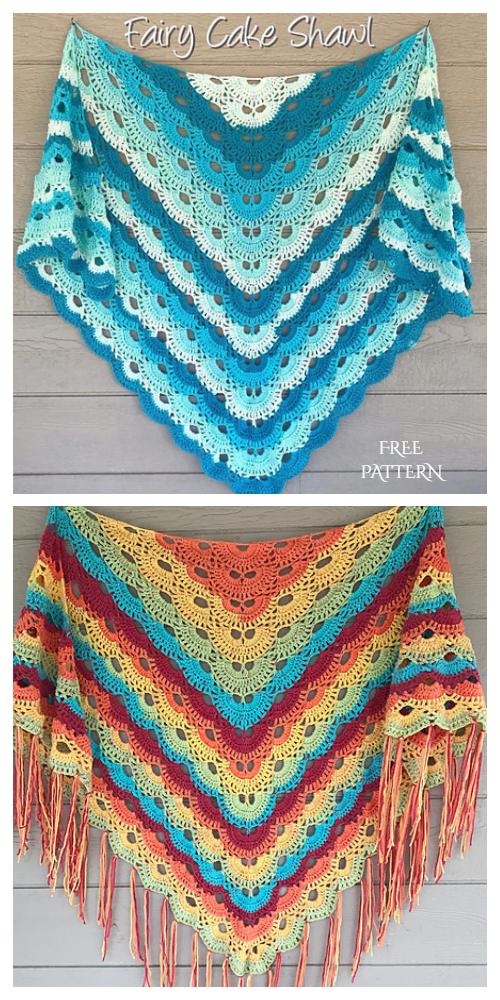 Virus Shawl Free Crochet Pattern + Video
