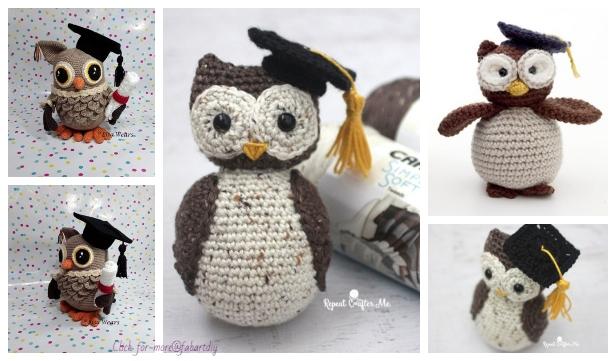 Owl Applique [Free Crochet Pattern] | 361x616