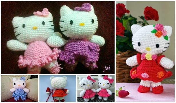 Crochet Hello Kitty Amigurumi Free Patterns - Toy Plush for Kids