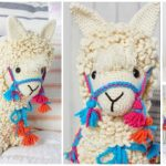 Crochet Llama Toy Plush Amigurumi Free Patterns & Paid