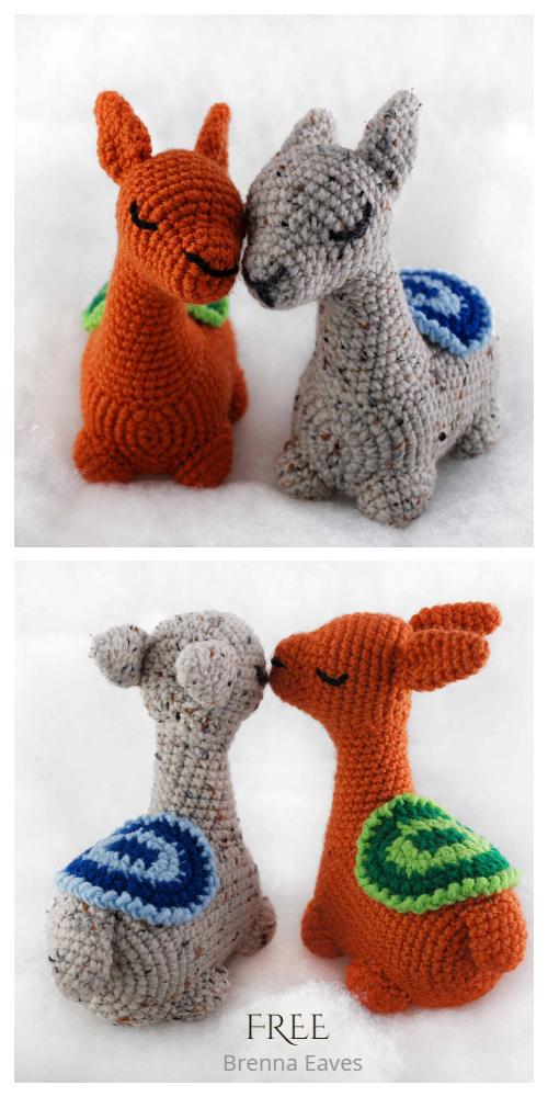 Crochet Llama Fleece Navidad Amigurumi Free Patterns