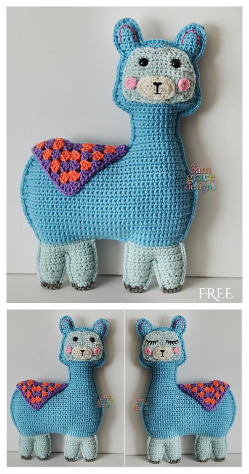 CrochetLlama Kawaii CuddlerAmigurumi Free Pattern
