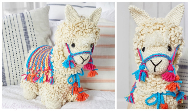 Crochet Llama Toy Amigurumi Free Patterns & Paid