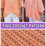 Crochet Summer Shrug Free Crochet Pattern-Video Included