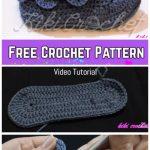 Adult Crocodile Stitch Boots Free Crochet Pattern - Video Tutorial