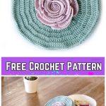 Crochet Flower Jewelry Box Free Crochet Pattern