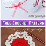 Crochet Flower Doily Jewelry Box Free Crochet Pattern