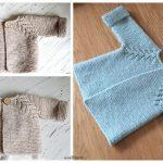 Fabulous Norwegian Fir Top Down Cardigan Knitting Pattern