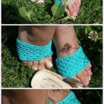 Flip Flop Socks Crochet Pattern