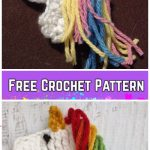 Easy Crochet Unicorn Applique Free Crochet Pattern