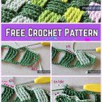 Crochet Basket Weave Stitch Free Crochet Pattern
