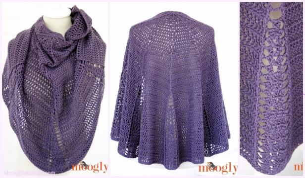 Crochet Branching Out Shawlette Free Crochet Pattern