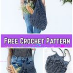 Crochet French Market Bag Free Crochet Pattern