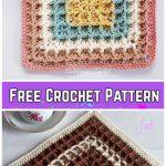 Crochet Squared Waffle Stitch Blanket Free Crochet Patterns - Video