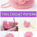 Easy Crochet Doily Purse Free Crochet Pattern