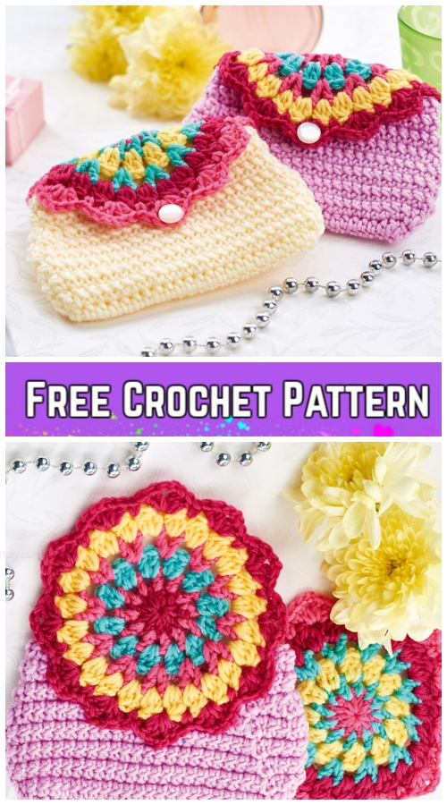 Easy Crochet Doily Purse Free Crochet Pattern