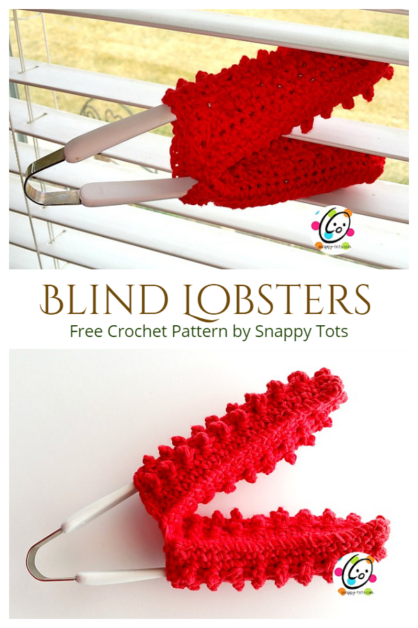 Crochet  Blind Lobsters Free Crochet Pattern