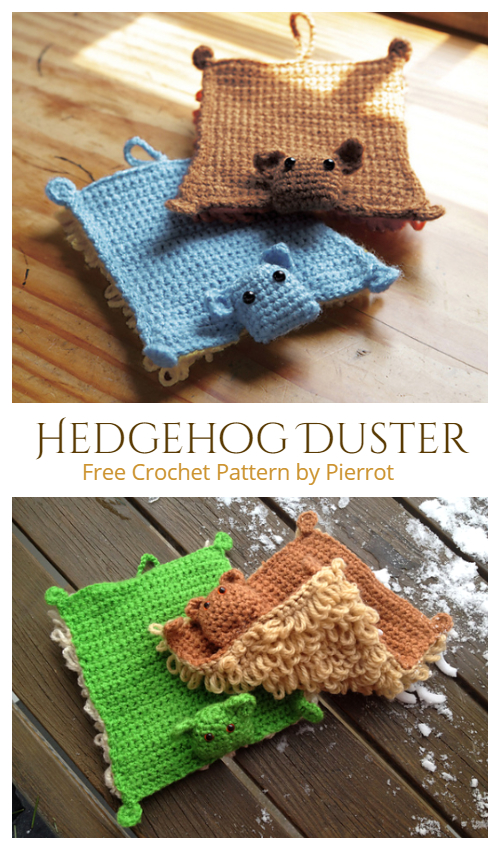 Crochet Flying Squirrel Duster Free Crochet Pattern