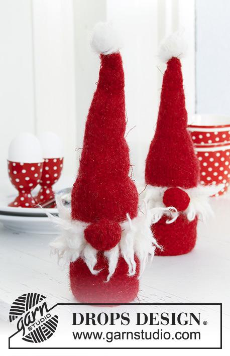 Knit Santa GnomeEgg Sitter Free Knitting Patterns