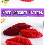 Amigurumi Kiss lip Free Crochet Pattern