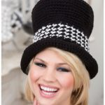 Crochet Halloween Top Hat Sophisticate Free Crochet Pattern for Ladies - Video