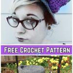 Crochet Top Hat Free Crochet Pattern for Ladies
