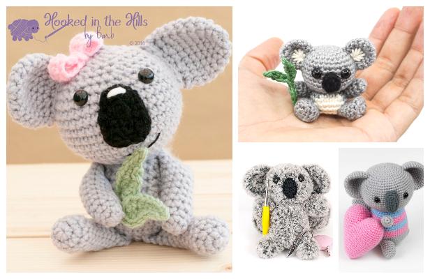 Crochet Koala Toys Amigurumi Free Patterns