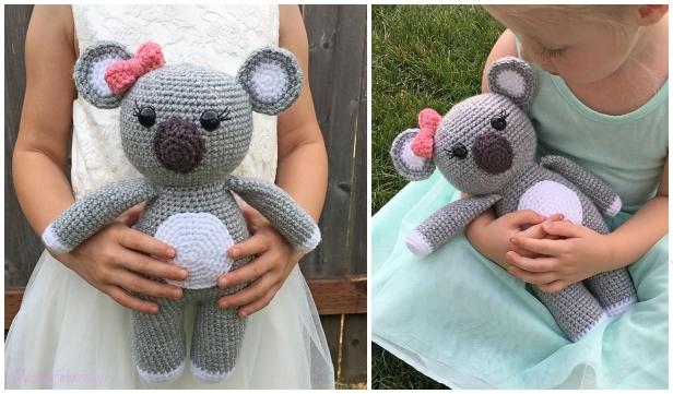 Crochet Koala Toy Softies Amigurumi Free Patterns