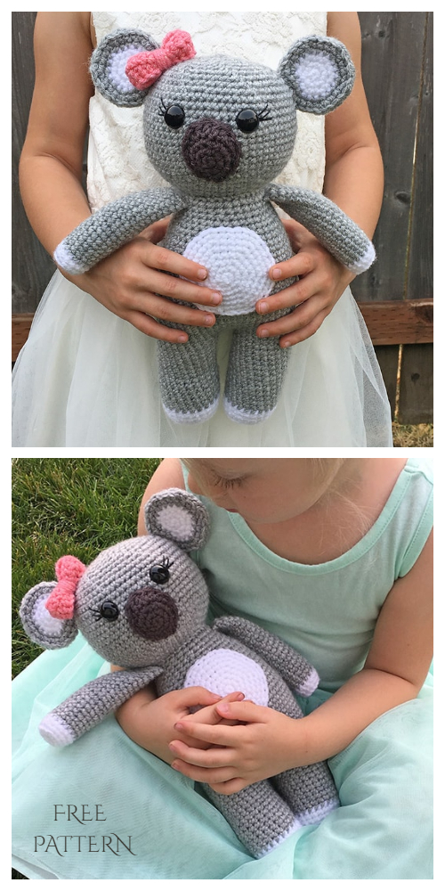 Crochet Koala Toys Amigurumi Free Patterns