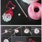 Crochet Little Santa Applique Free Crochet Pattern