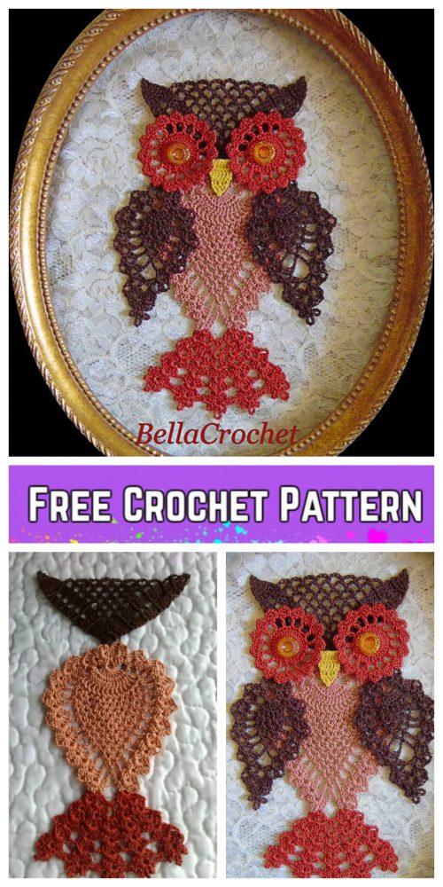Crochet Pineapple Owl Free Crochet Patterns - Atticus Owl