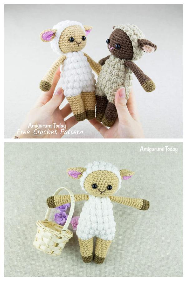 Crochet Cuddle Me Sheep Amigurumi Free Patterns