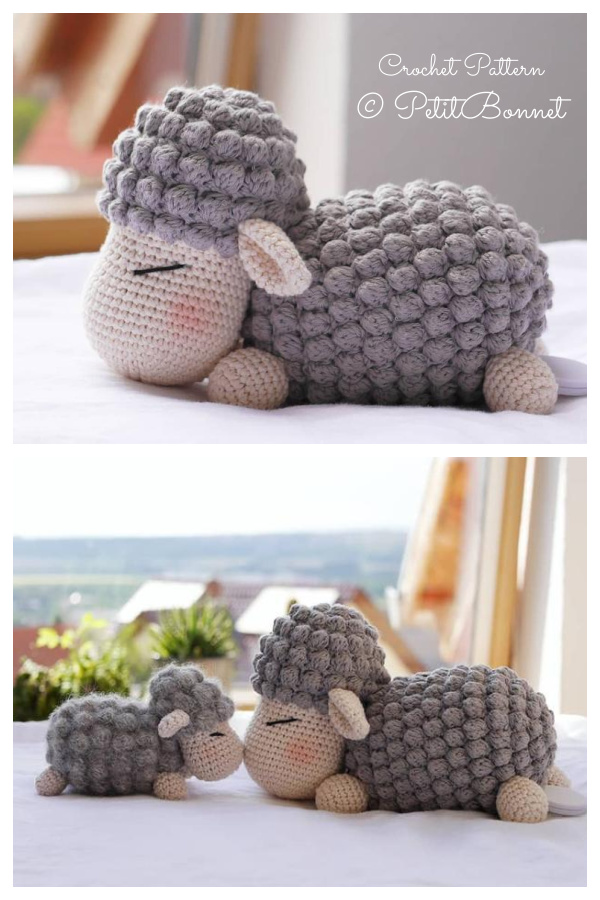Crochet Lamb Frieda  Amigurumi Patterns