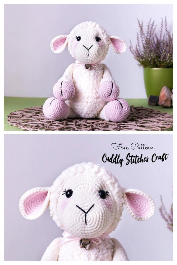 Crochet Sheep Toy Softies Amigurumi Free Patterns