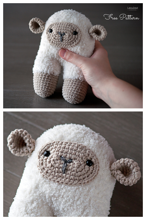 Crochet Beeetty Sheep Amigurumi Free Patterns
