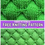 Knit Butterfly Stitch Blanket Free Knitting Pattern -Video Tutorial