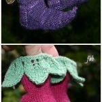 Knit Elvish Elf Baby BootiesKnitting Pattern