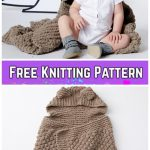 Knit Squirreled Away Baby Blanket Free Knitting Pattern