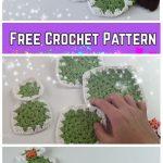 Vintage Granny Square Christmas Tree Free Crochet Pattern-Video
